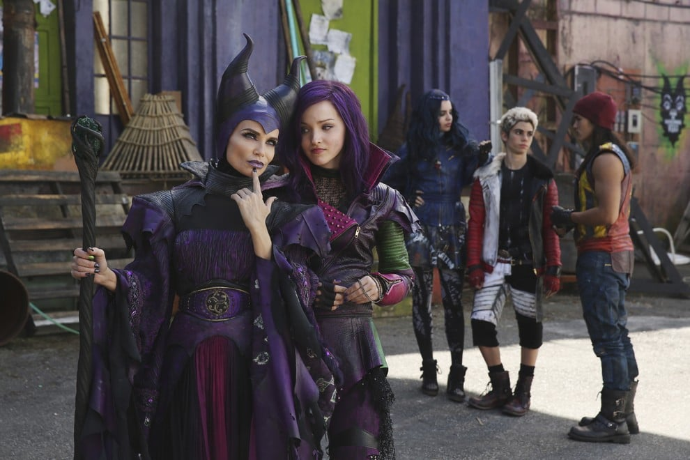 Descendants Mal et Maleficent