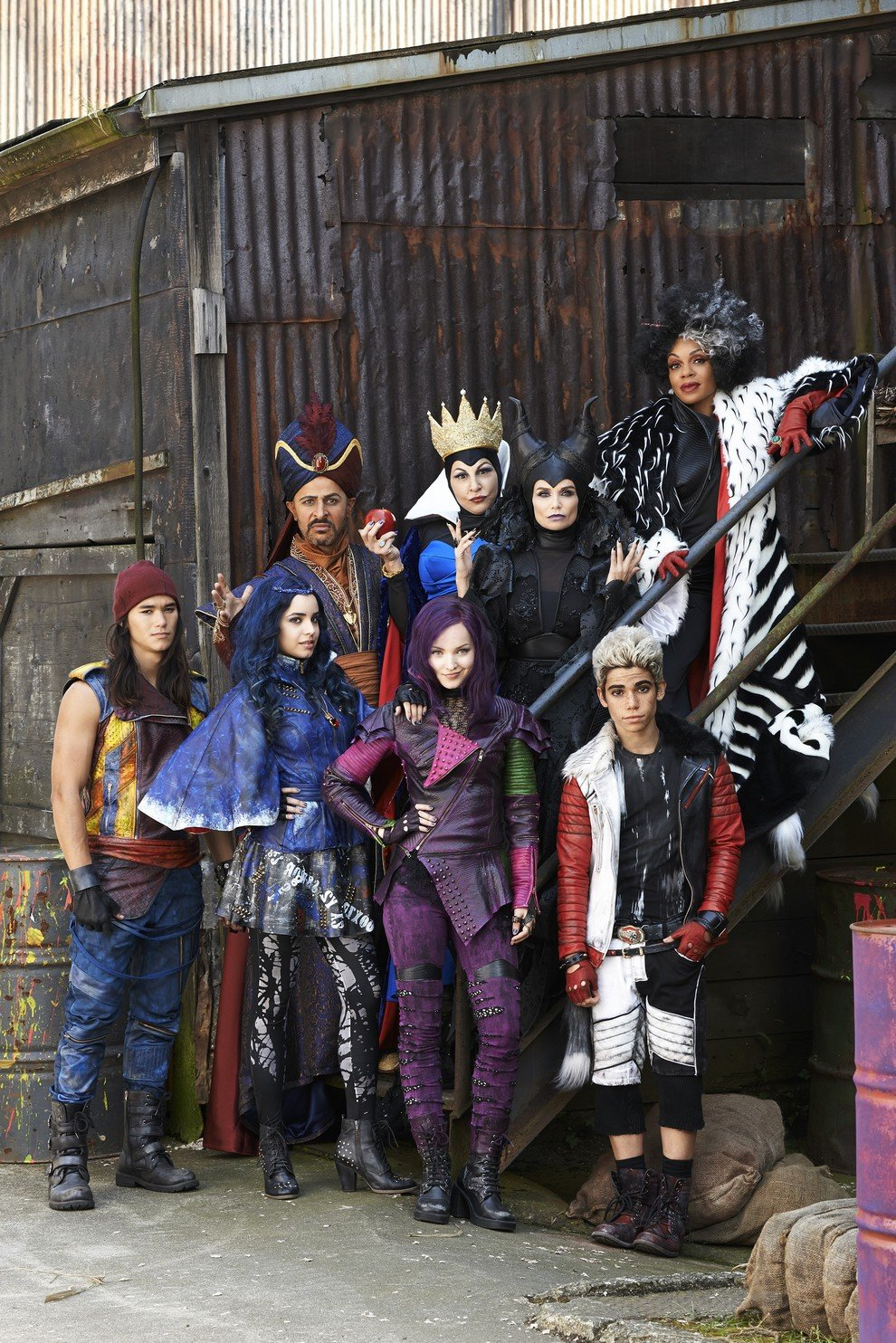 Descendants les villains