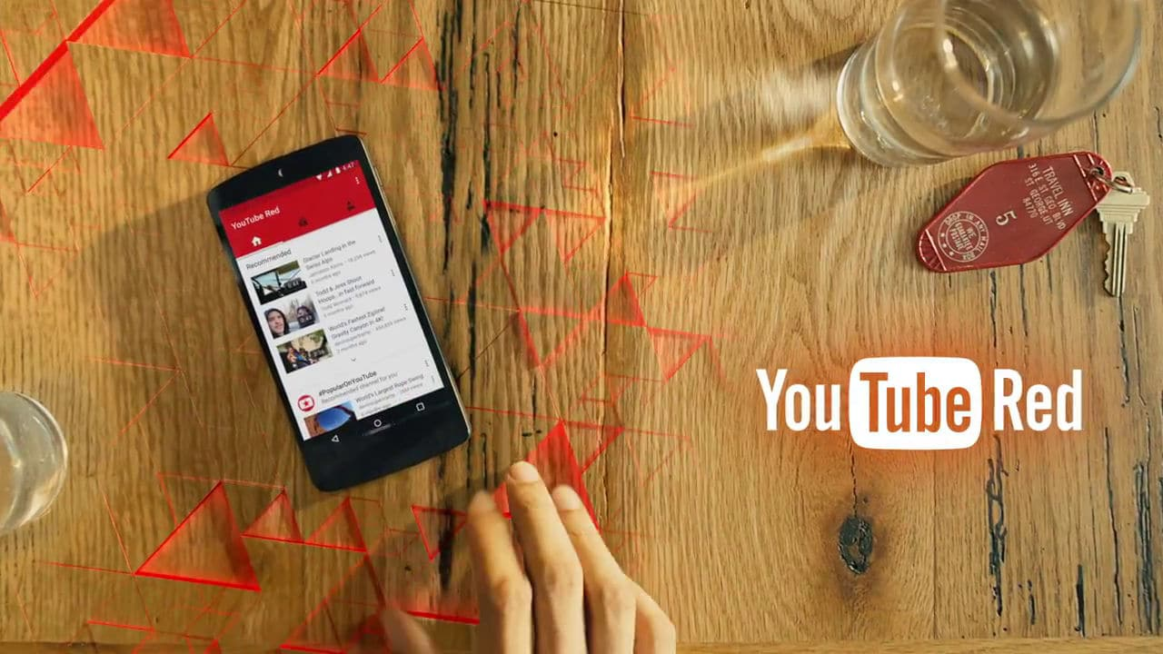 Vidéo promotionnelle Youtube RED