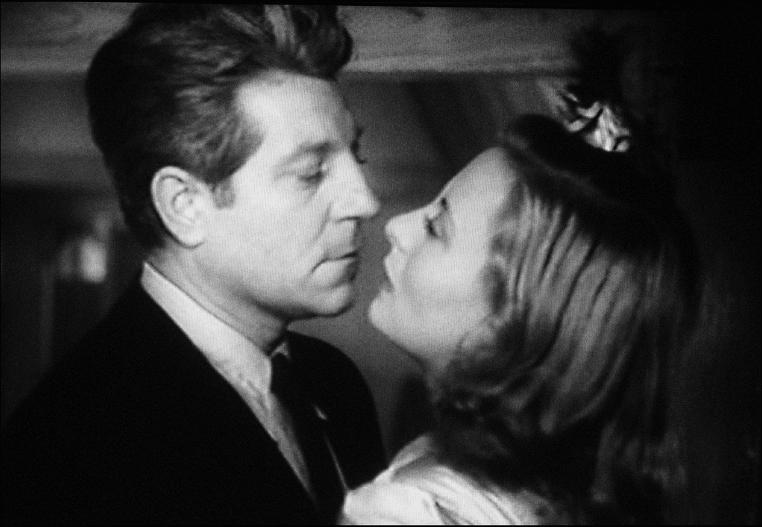 Michèle Morgan et Jean Gabin