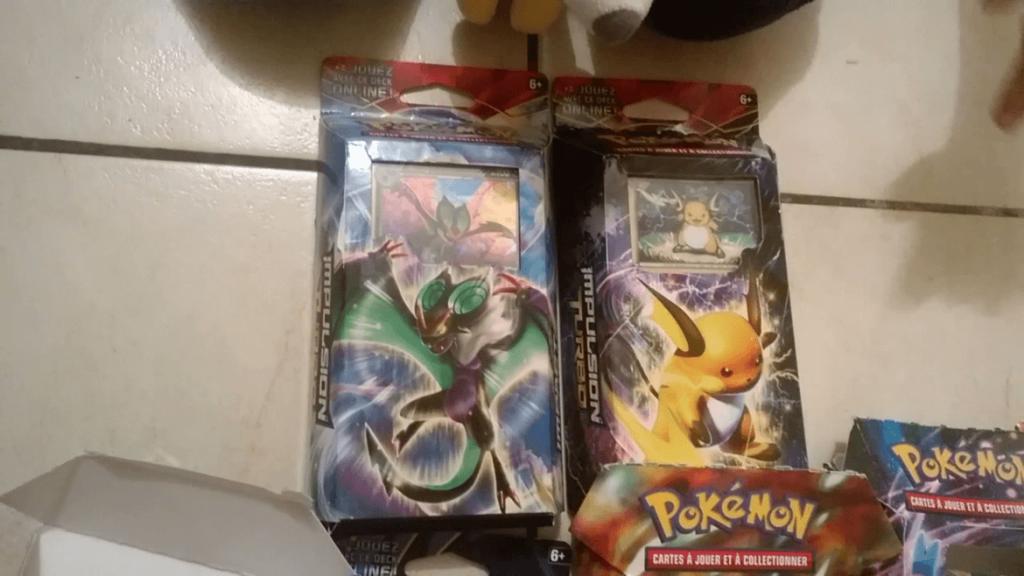 Pokemon XY Jeux Cartes Collectionner - Decks Impulsion Turbo