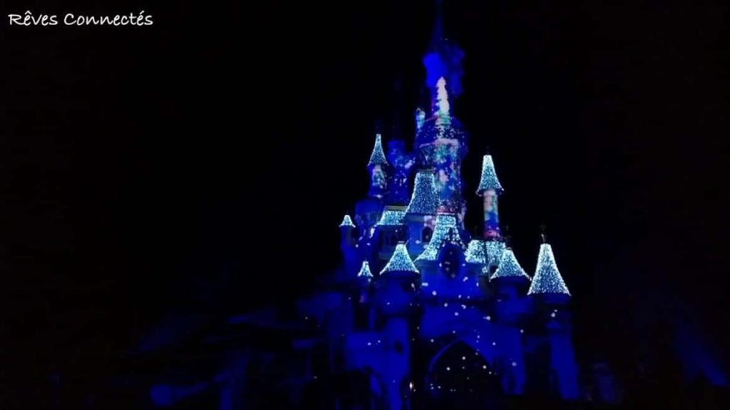 Noël 2015 Disneyland Paris - Illumination château