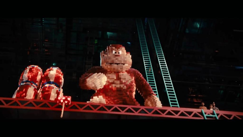 Pixels Movie - Donkey Kong