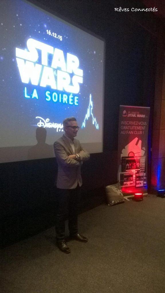 Présentation Soirée Star Wars Night Disneyland Paris - Patrice Girod