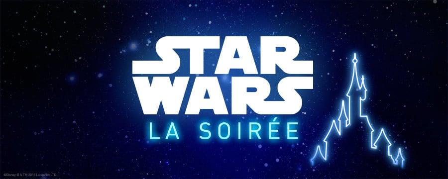 Logo Star Wars La Soirée - Disneyland Paris