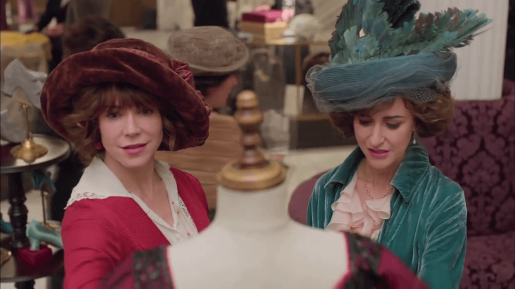Mr Selfridge - Rose Selfridge et Lady Mae Loxley