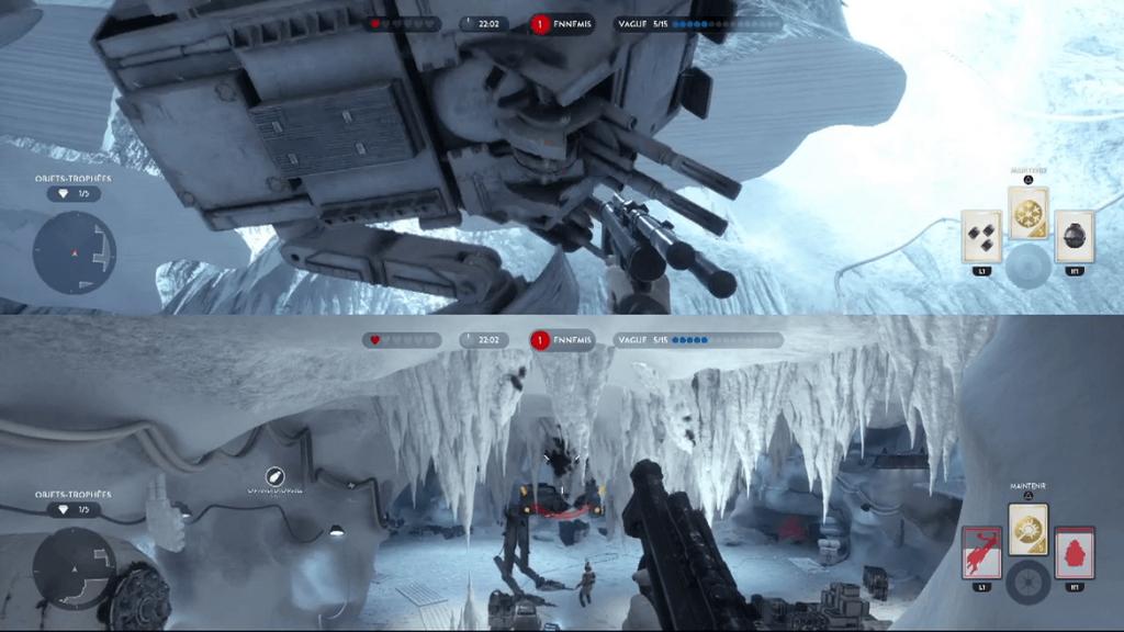 Star Wars Battlefront - Survie contre un TS TT.