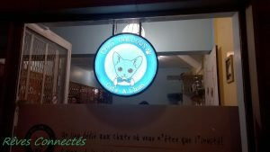 Big Cat Week et Julie Ferrier au Chat Mallow Café de Paris