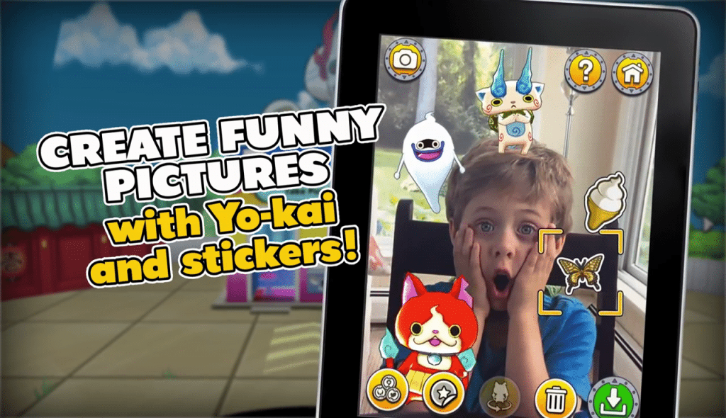 Yokai Watch Land appli mobile Android iPhone