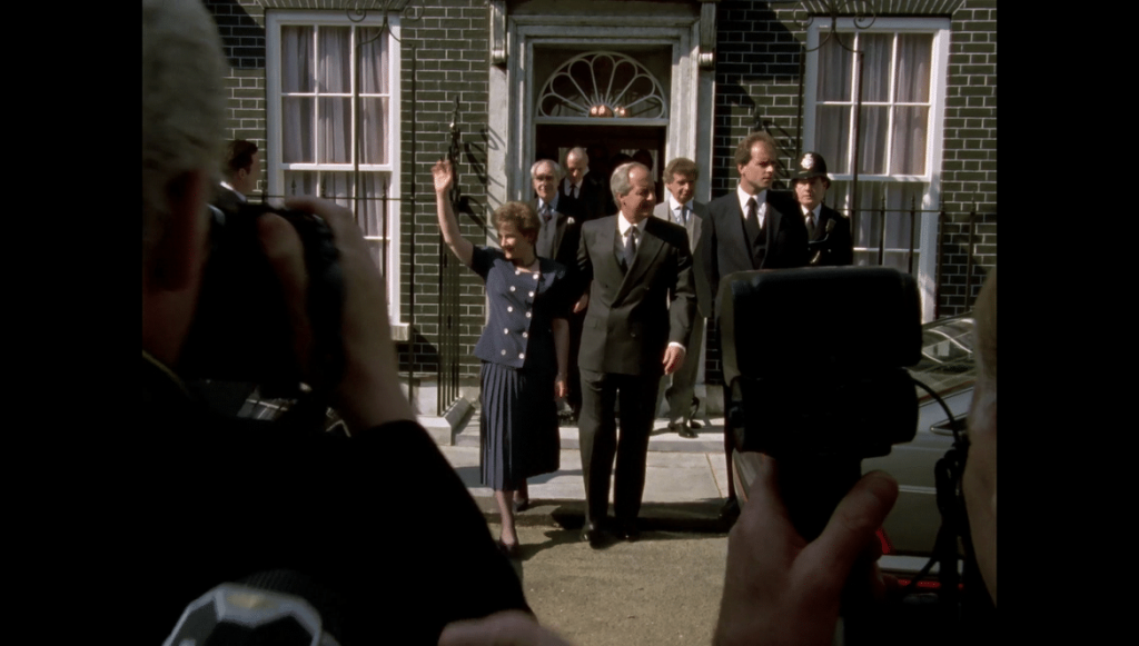 10 downing street dans House of Cards