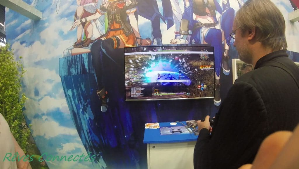 Japan Expo - Sword Art Online : Hollow Realization sur PS4