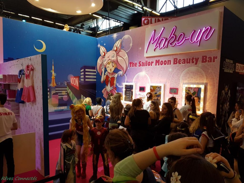 Japan Expo - Sailor Moon Beauty Bar