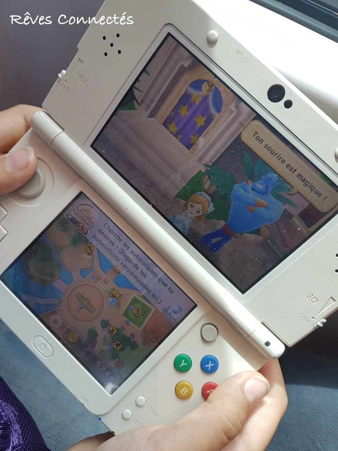 Disney Magical World sur la New Nintendo 3DS de Léopoldine