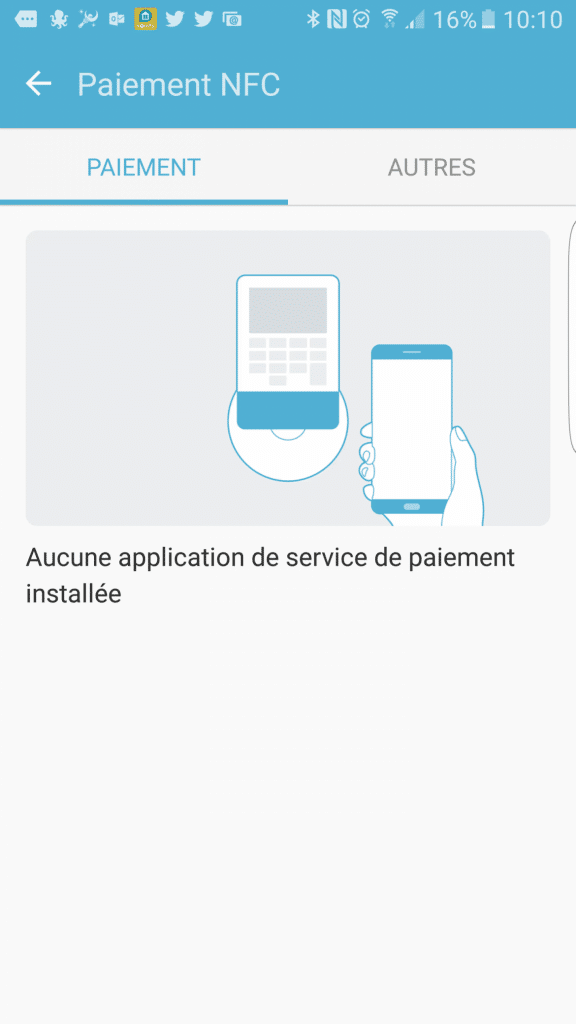 Configuration du NFC sur Android