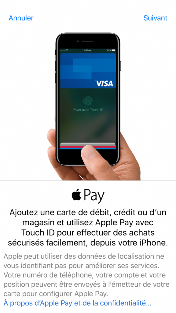 Orange Cash et Apple Pay