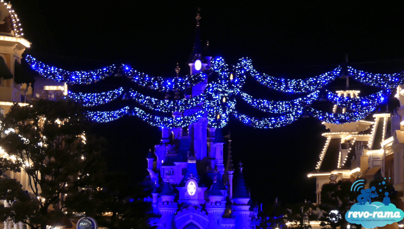 Decoration noel disneyland paris