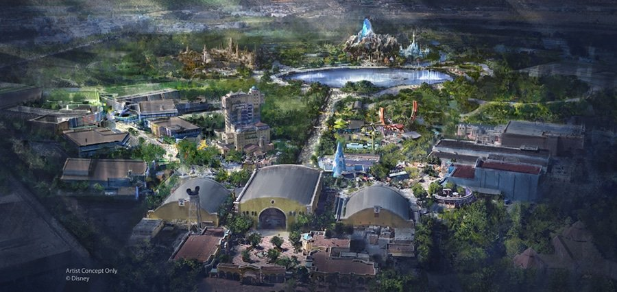 Visuel annonce Disneyland Paris