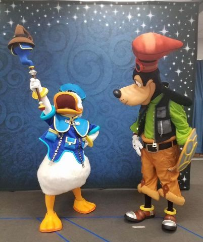 Mickey et Donald Kingdom Hearts
