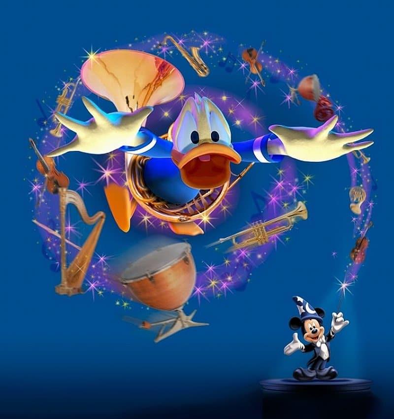 Mickey-et-son-Orchestre-PhilharMagique-et-Donald